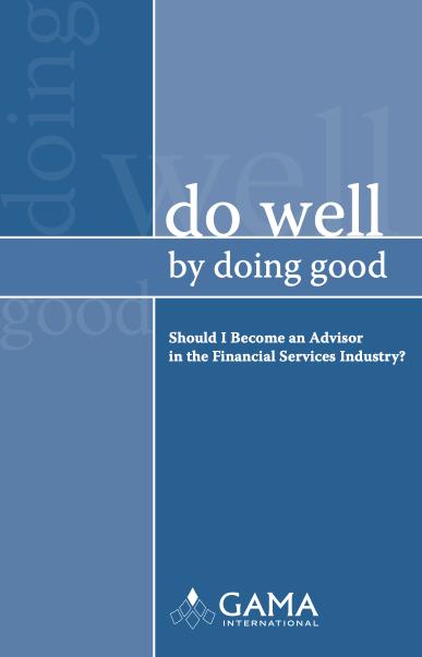 Do Well by Doing Good - Financial Advisor